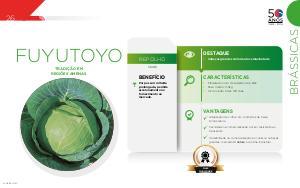 Fuyutoyo - Brássicas