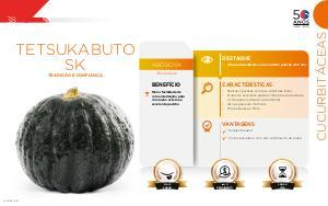Tetsukabuto  SK - Cucurbitáceas