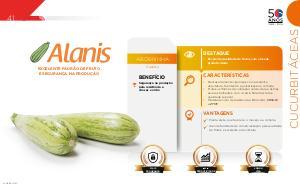 Alanis - Cucurbitáceas