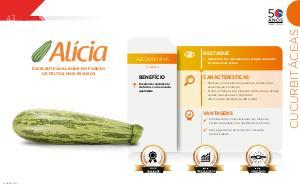Alícia - Cucurbitáceas