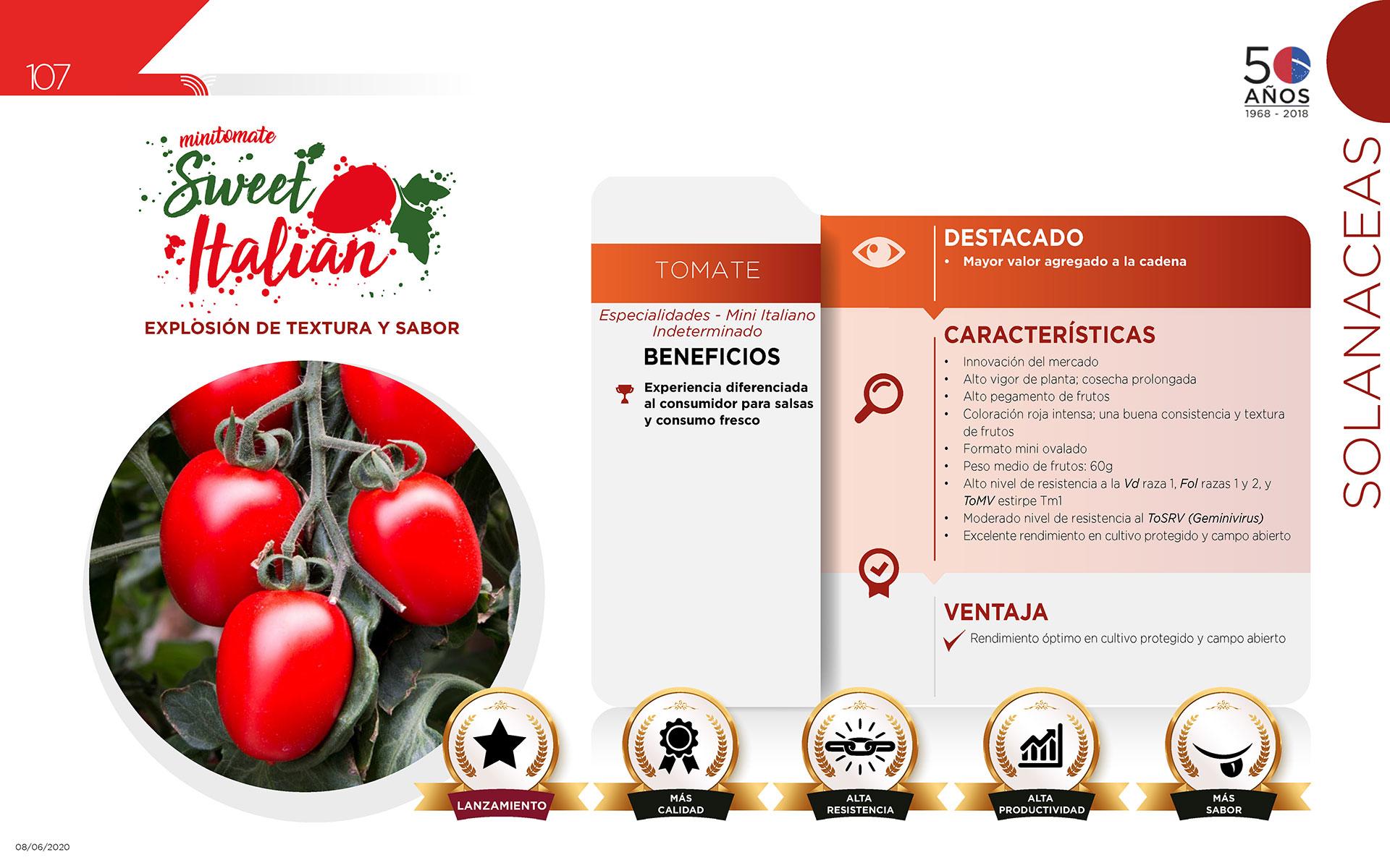 Sweet Italian - Solanaceas