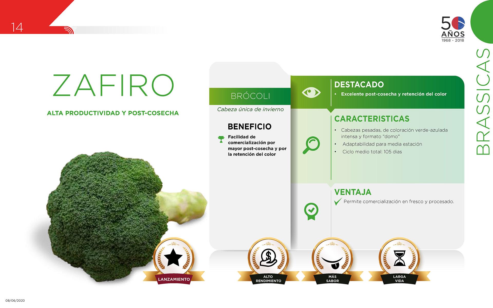 Zafiro - Brassicas