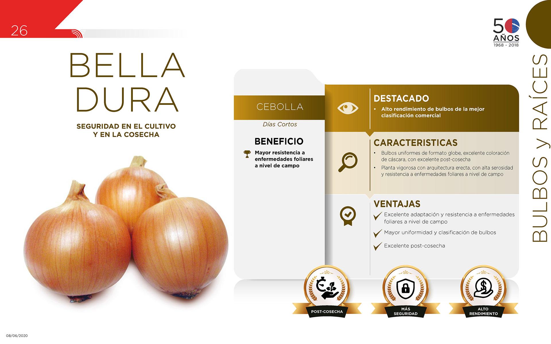 Bella Dura - Bulbos y Raíces