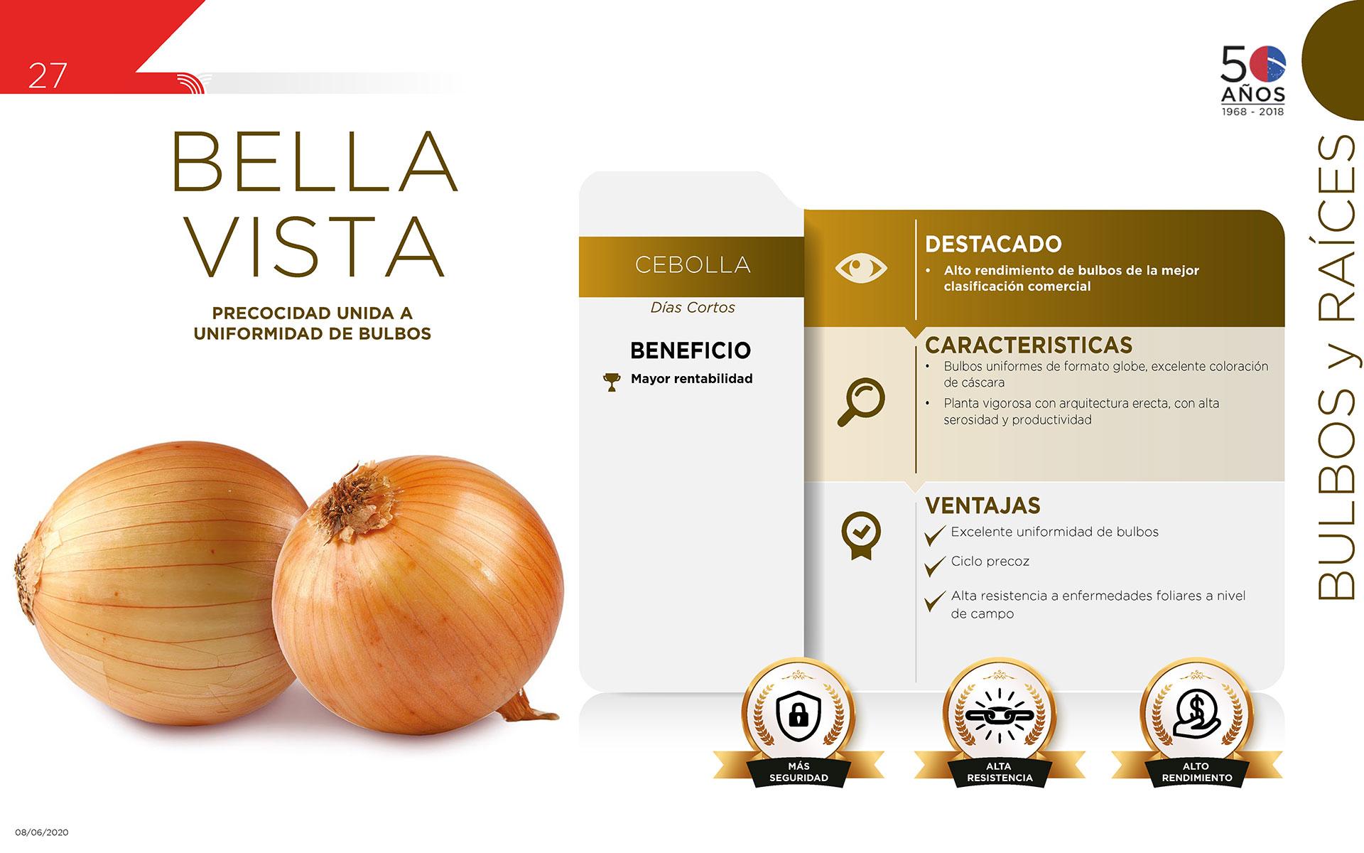 Bella Vista - Bulbos y Raíces