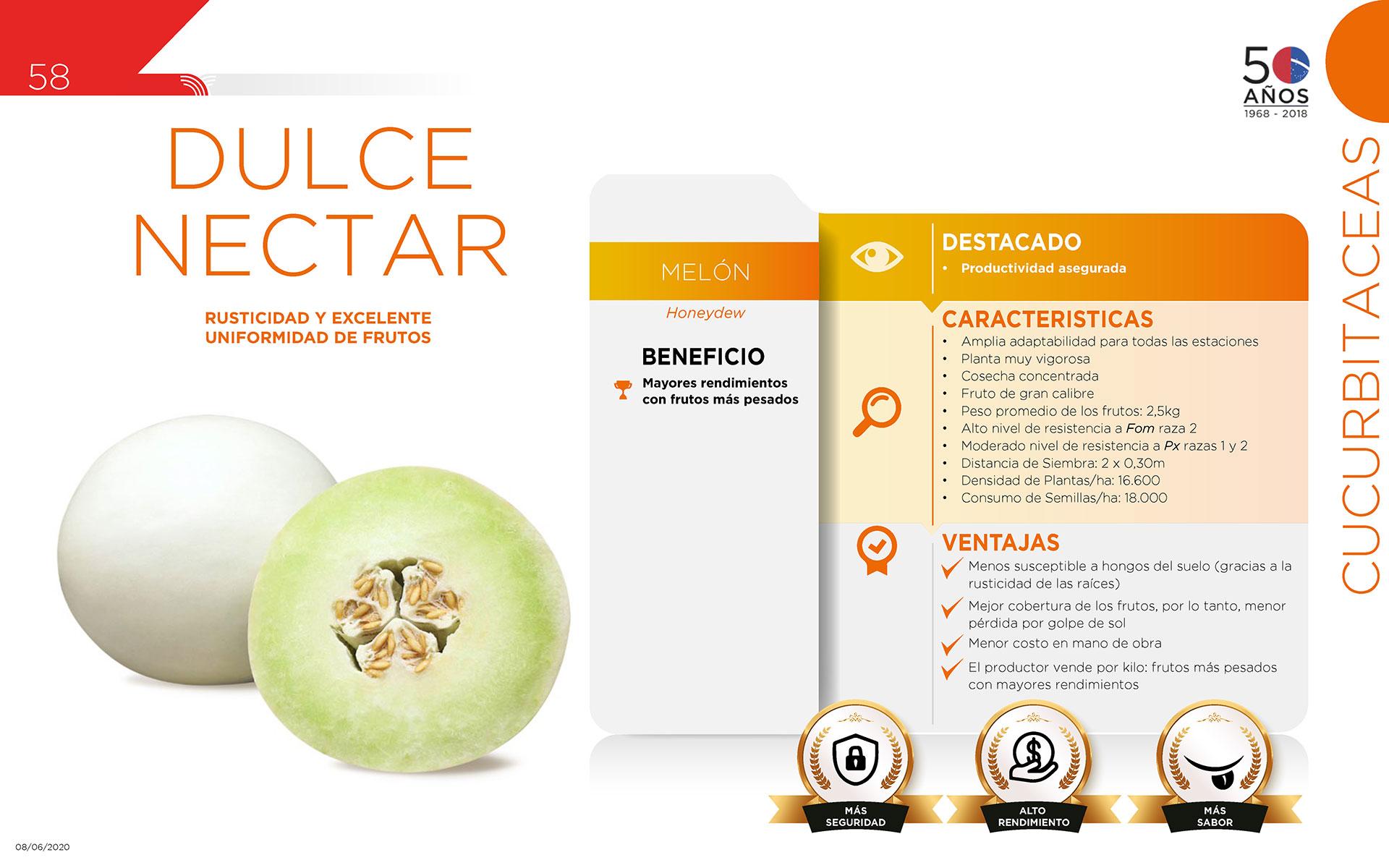 Dulce Nectar - Cucurbitaceas