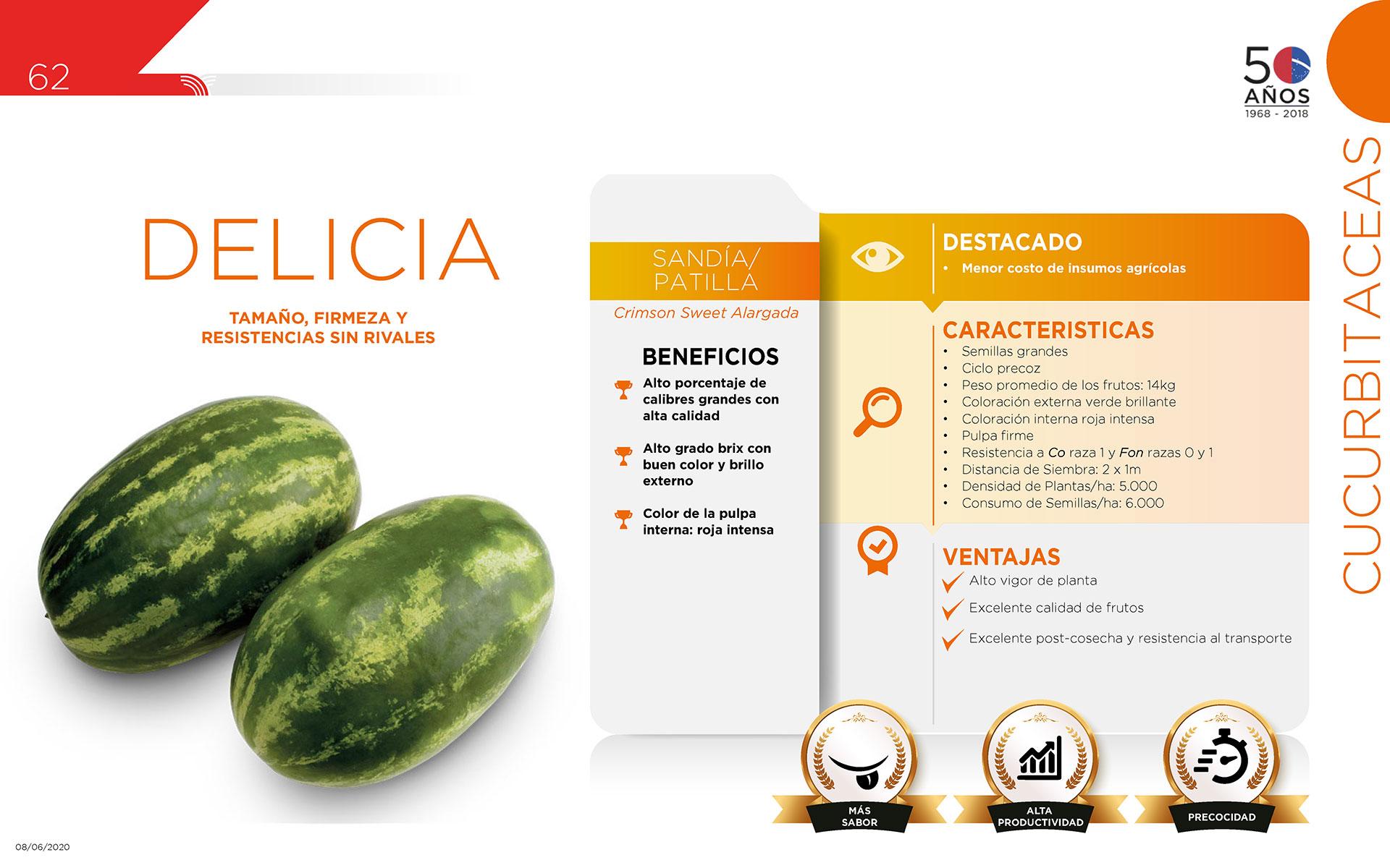 Delicia - Cucurbitaceas