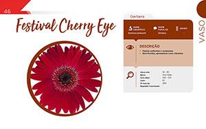 Festival Cherry Eye - Vaso
